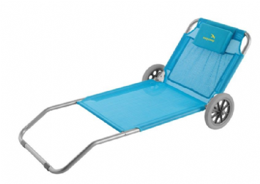 Easy Camp Pier Blue Beach Bed Trolley